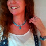 "Ketting Sea Green - € 8,95<a href=""/product/sea-green/"" target=""_blank"">BESTELLEN</a><br>Armbanden Silky Blue & Crystal Blue"